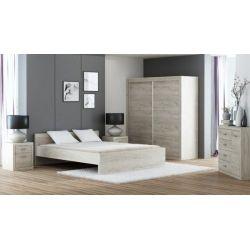 Łóżko O 20, 210/100 cm, spanie 200/90 cm.