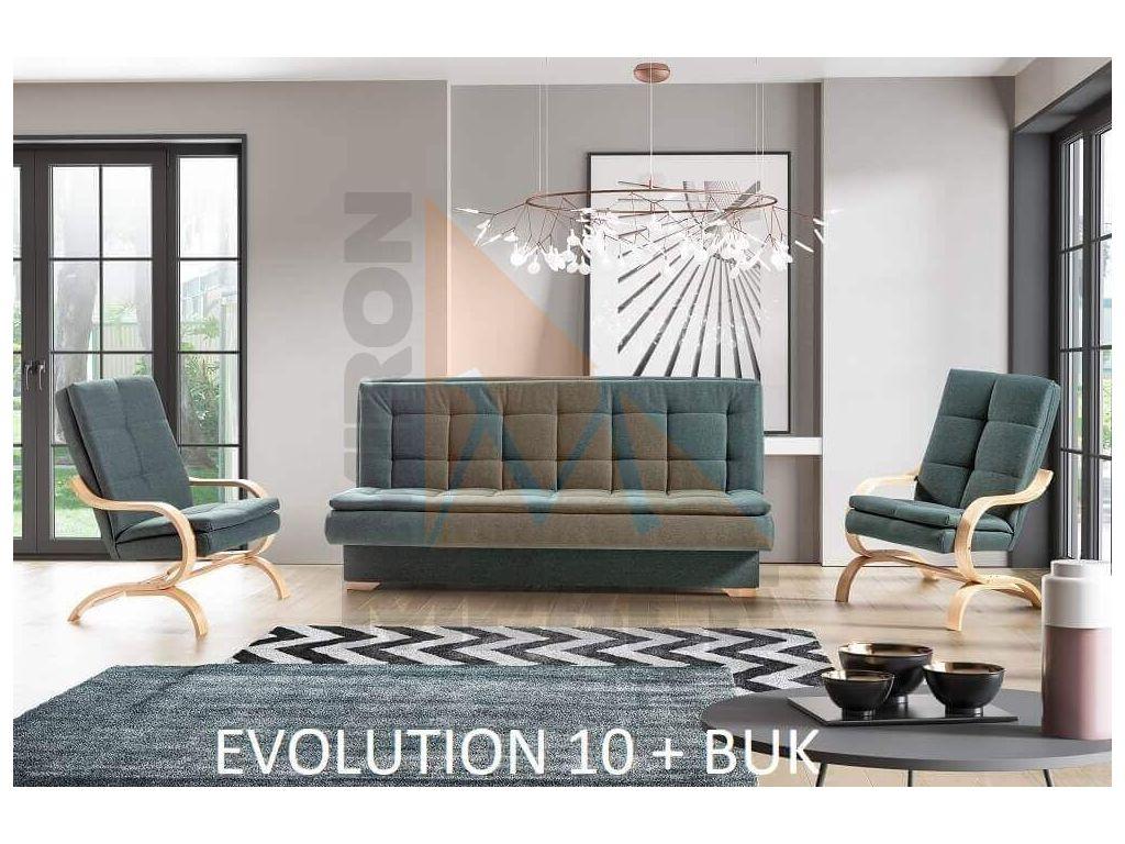 Wersalka bez boków BINGO, spanie 200 x 118 cm.