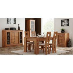 Stół rozkładany 80 x 120 x 160, system Tadeusz.