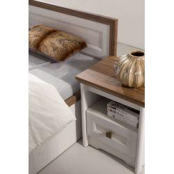 Duża szafa do sypialni PS 3, system Parys, szerokość 156 cm.