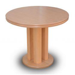 Zestaw do jadalni 7 ( stół S 35 fi 90 x 240 cm po rozłożeniu + krzesło K 47 x 4 szt ).