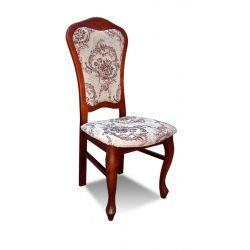 Zestaw do jadalni 9 (stół rozkładany S 19, fi 150 x 200 cm i krzesło K30 x 8 szt ).