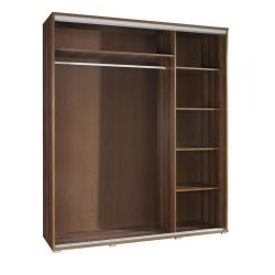 Szafa PENELOPA, drzwi przesuwne z grafiką, szerokość 155 cm.