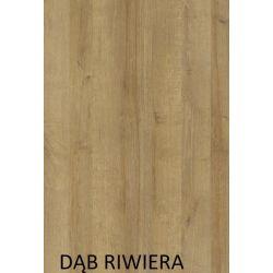 Duża szafa HAJFA z drzwiami przesuwnymi i lustrem, szerokość 255 cm.