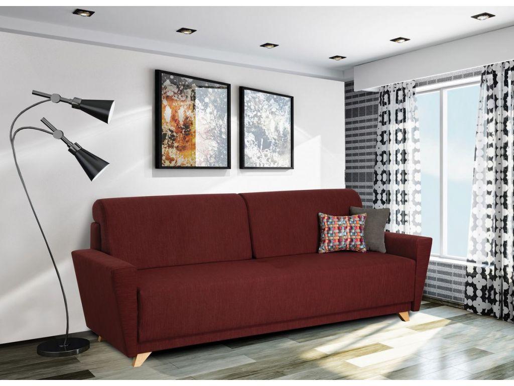 Kanapa BRUNO, duża powierzchnia spania 200/140 cm, wysoki komfort.