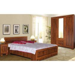 Łóżko TŁÓ 140 x 200 cm powierzchnia spania, system TYTAN.