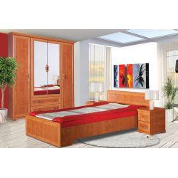 Łóżko OŁ 140 x 200 cm powierzchnia spania, system OSKAR.