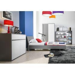 Łóżko Z12, system ZONDA, 90 x 200 cm powierzchnia spania.