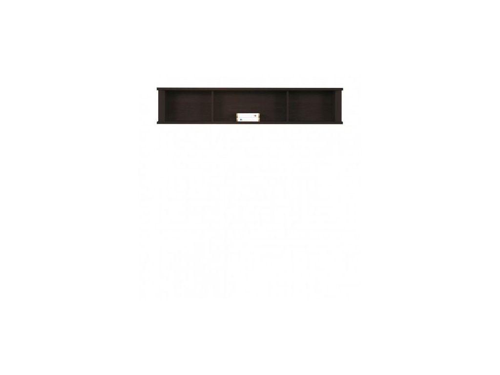 Półka wisząca F 13, system Finezja, szerokość 160 cm.