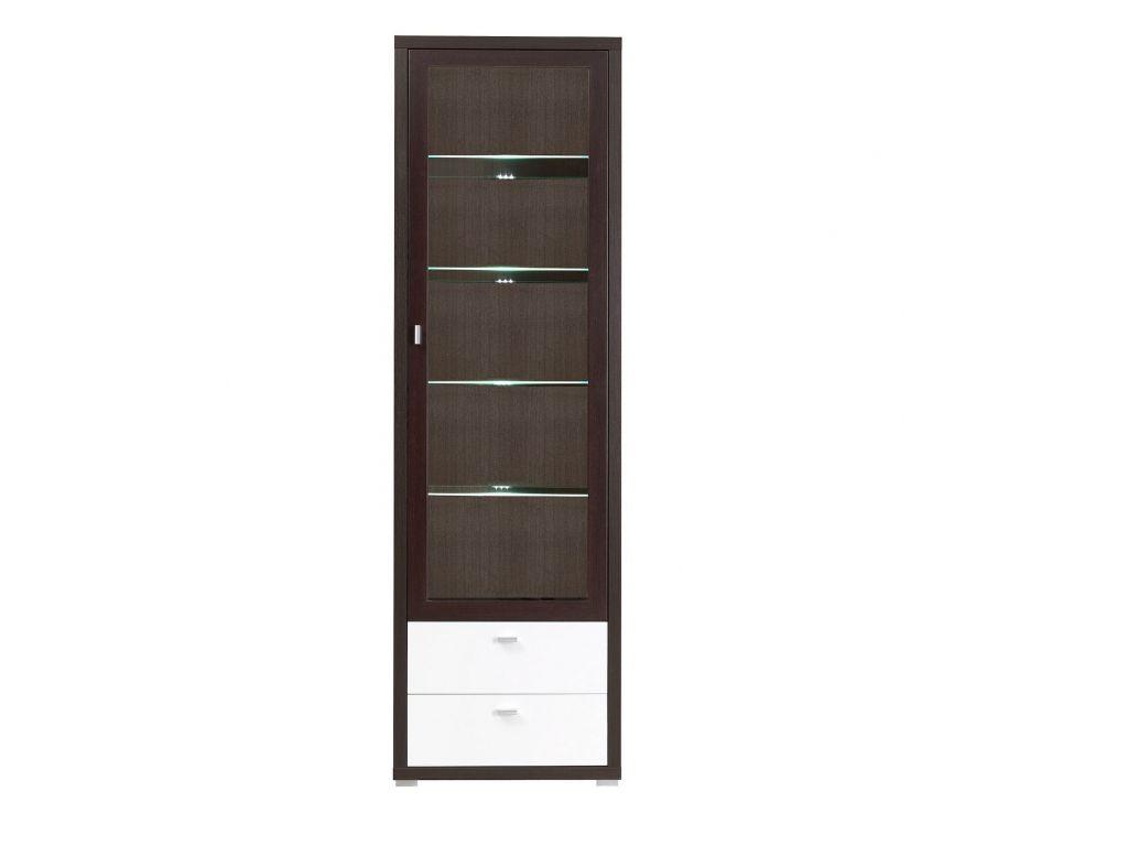 Witryna 1 drzwi K10, system KENDO, szerokość 64 cm.