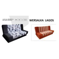 Wersalka LAGOS. Powierzchnia spania 190 x 120 cm.