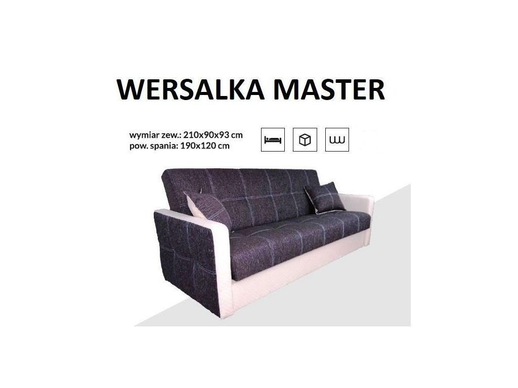 Wersalka MASTER, bonell, powierzchnia spania 190 x 120 cm.