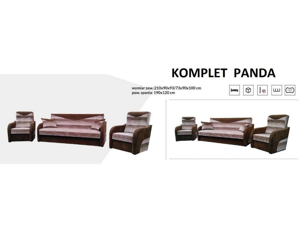 Komplet wypoczynkowy PANDA (wersalka + 2 fotele ).