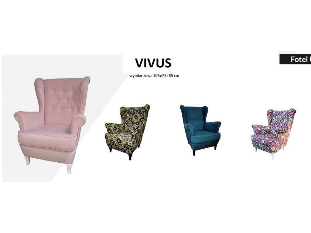 Fotel VIVUS (uszak).
