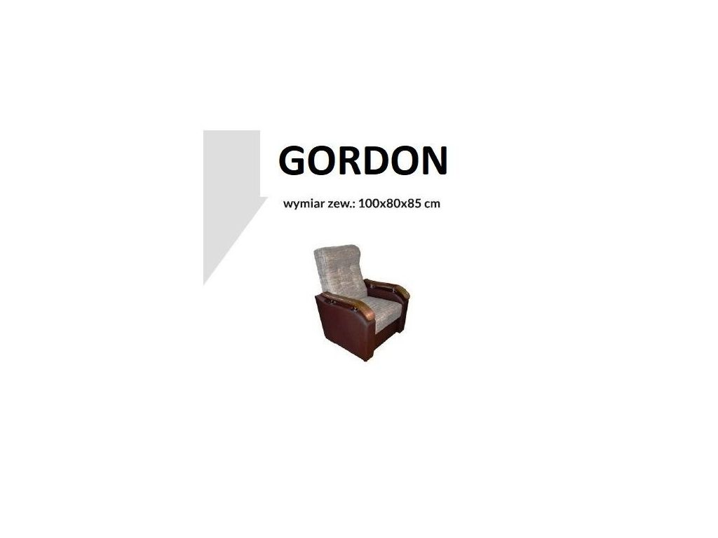 Fotel GORDON.