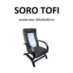 Fotel SORO, stelaż Toffi.