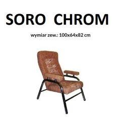 Fotel SORO, stelaż prosty...