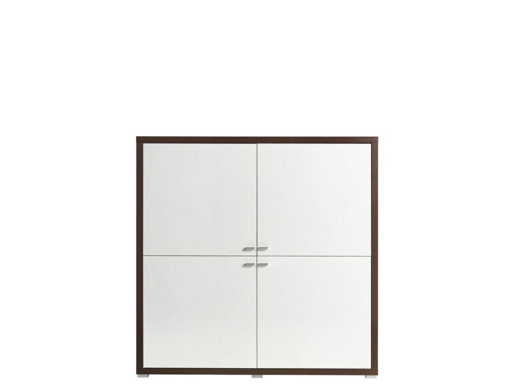 Komoda K4,system KENDO, 4 drzwi, szerokość 140 cm.