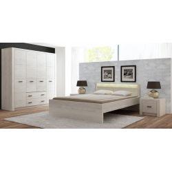 Łóżko I 19, wymiar 160 x 200 system Indianapolis.
