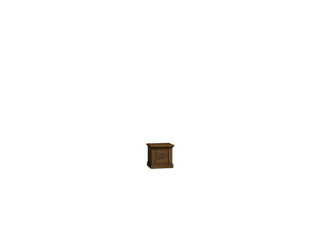 Stolik nocny, komoda A 7 system Antica, wymiar 38,5 x 37 x 50 wysokość.