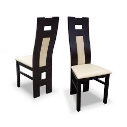 Zestaw do jadalni 29, stół S18-L wymiar 80 x 160 x 200 krzesło K41B, 6 szt.