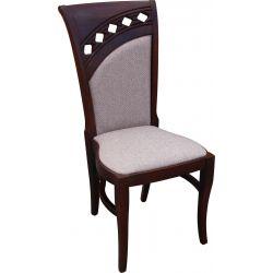 Zestaw do jadalni 51, stół S27 fi, wymiar 150 x 200 , krzesło K49 ,8 szt.
