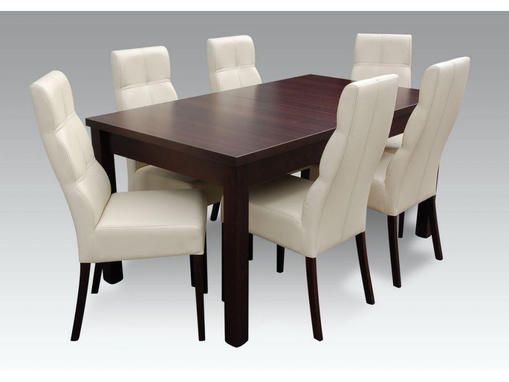 Zestaw do jadalni 59, stół S18-L wymiar 90 x 160 X 200 krzesło K63 ,6 szt.