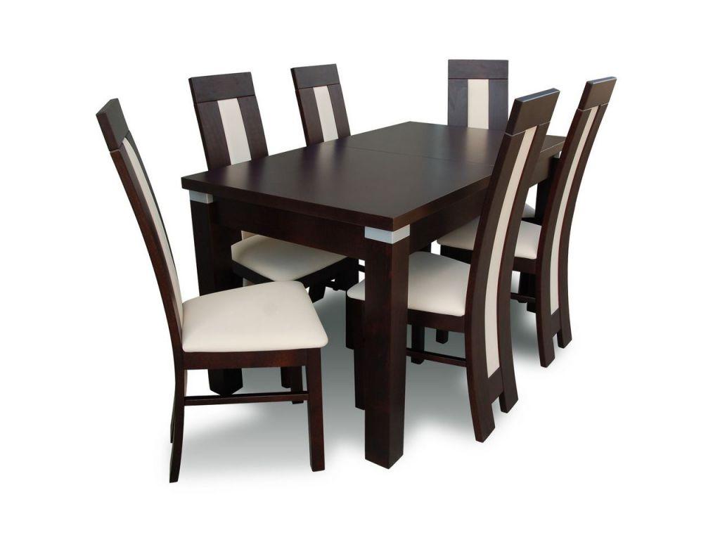 Zestaw do jadalni 60, stół S18-S wymiar 90 x 160 X 215 krzesło K60 ,6 szt.