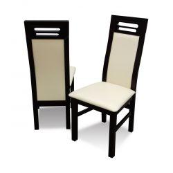 Zestaw do jadalni 61, stół S18-S wymiar 80 x 140 X 180 krzesło K65 ,6 szt.