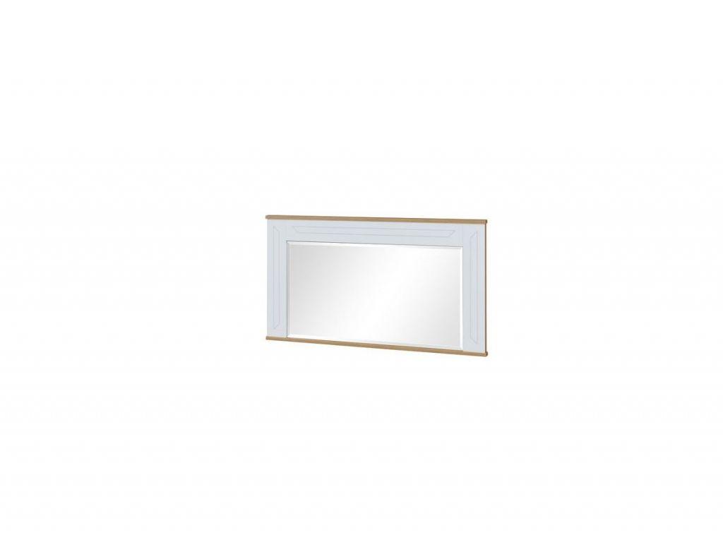 Lustro SN 18, system Sonia,Biały połysk, szerokość 125 cm.