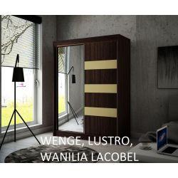Szafa Like z drzwiami przesuwnymi, 150 cm szerokość. Bez oświetlenia LED.