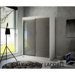Szafa Pik z drzwiami przesuwnymi, 120 cm szerokość. Bez oświetlenia LED.
